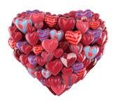 Corazón de corazones Imagen de archivo libre de regalías