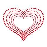 Corazón de corazones Fotos de archivo
