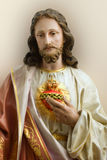 Corazón de Cristo Imagen de archivo libre de regalías
