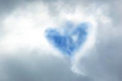 Corazón de dios Fotografía de archivo