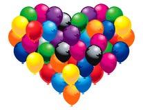 Corazón de globos Imagen de archivo