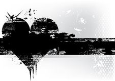 Corazón de Grunge libre illustration