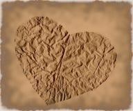Corazón de Grunge Fotografía de archivo libre de regalías