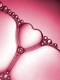 Corazón de la burbuja Imagen de archivo libre de regalías