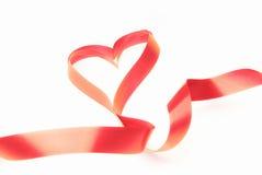 Corazón de la cinta Imagen de archivo