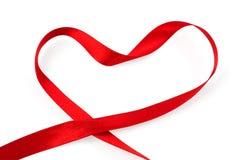 Corazón de la cinta Imágenes de archivo libres de regalías