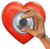 Corazón de la combinación Ilustración del Vector