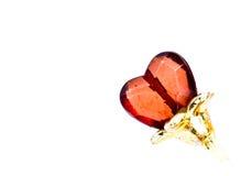 Corazón de la gema Foto de archivo