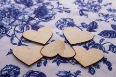 Corazón de la madera Fotos de archivo libres de regalías