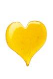 Corazón de la miel Imagenes de archivo