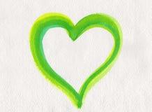 Corazón de la naturaleza ilustración del vector