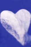 Corazón de la nube fotografía de archivo