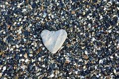 Corazón de la piedra imagenes de archivo