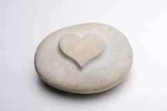 Corazón de la piedra Fotografía de archivo libre de regalías