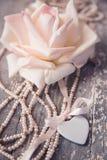 Corazón de la porcelana fotos de archivo