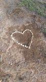 Corazón de la roca Imágenes de archivo libres de regalías