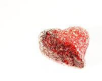 Corazón de la st-Tarjeta del día de San Valentín foto de archivo libre de regalías