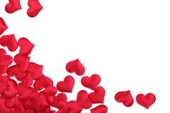 Corazón de la tarjeta del día de San Valentín fotografía de archivo