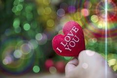 Corazón de la tarjeta del día de San Valentín de la colección de la foto Fotografía de archivo libre de regalías