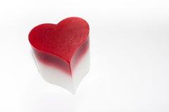 Corazón de la vela Fotos de archivo libres de regalías