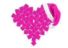 Corazón de los rectángulos de regalo Foto de archivo libre de regalías