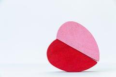 Corazón de madera imagen de archivo