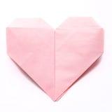 Corazón de papel Foto de archivo