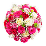 Corazón de rosas Imagenes de archivo