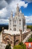 Corazón de Sagrat Barcelona Foto de archivo libre de regalías