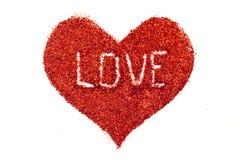 Corazón de Valentin Fotografía de archivo