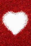 Corazón de Valentin Fotografía de archivo libre de regalías