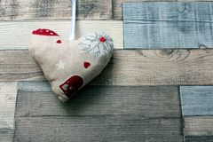 Corazón de Valentine´s Fotos de archivo libres de regalías
