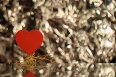 Corazón de Valentne Foto de archivo
