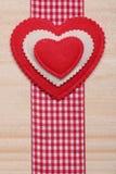 Corazón decorativo Foto de archivo libre de regalías