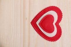 Corazón decorativo Imagen de archivo libre de regalías