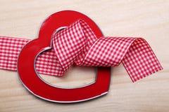 Corazón decorativo del marco Foto de archivo