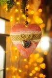 Corazón del Año Nuevo Fotografía de archivo