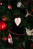Corazón del Año Nuevo Fotos de archivo libres de regalías