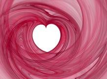 Corazón del amor Imágenes de archivo libres de regalías