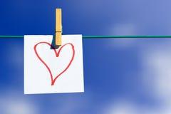 Corazón del amor fotos de archivo libres de regalías