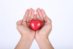 Corazón del amor Fotos de archivo