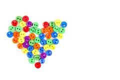 Corazón del arco iris Imagen de archivo libre de regalías