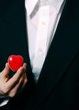 Corazón del asunto Foto de archivo