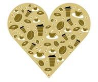 Corazón del café Libre Illustration
