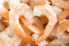 Corazón del camarón Fotografía de archivo