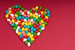 Corazón del caramelo Fotos de archivo libres de regalías