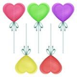 Corazón del caramelo Imagen de archivo libre de regalías