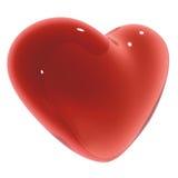 Corazón del caramelo Fotografía de archivo