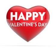 Corazón del día de tarjeta del día de San Valentín ilustración del vector