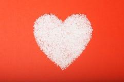 Corazón del día de tarjeta del día de San Valentín Imagenes de archivo